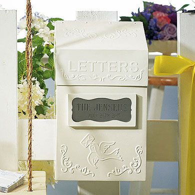 'Special Delivery' Letter Box, good idea for a card box