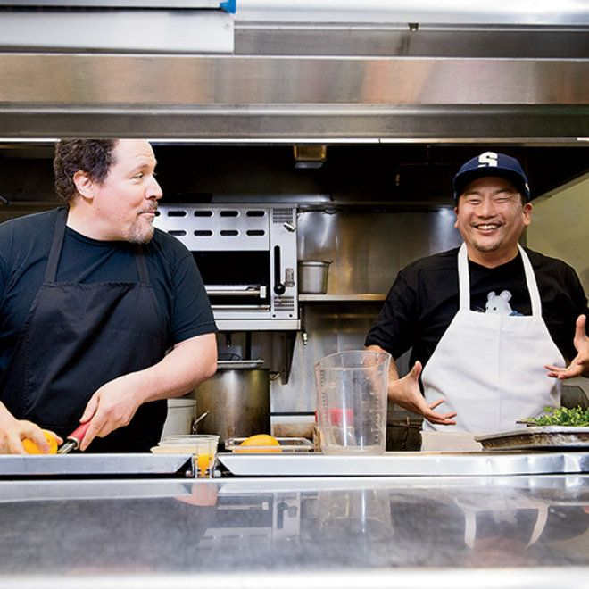 Food & Wine: Jon Favreau and Roy Choi in the Kitchen