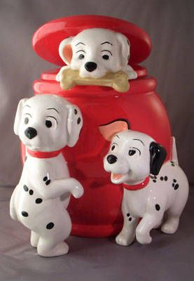 cookie jars collectibles | Disney Cookie Jar Gallery -- Collecting Dog Cookie Jars - 101 ...