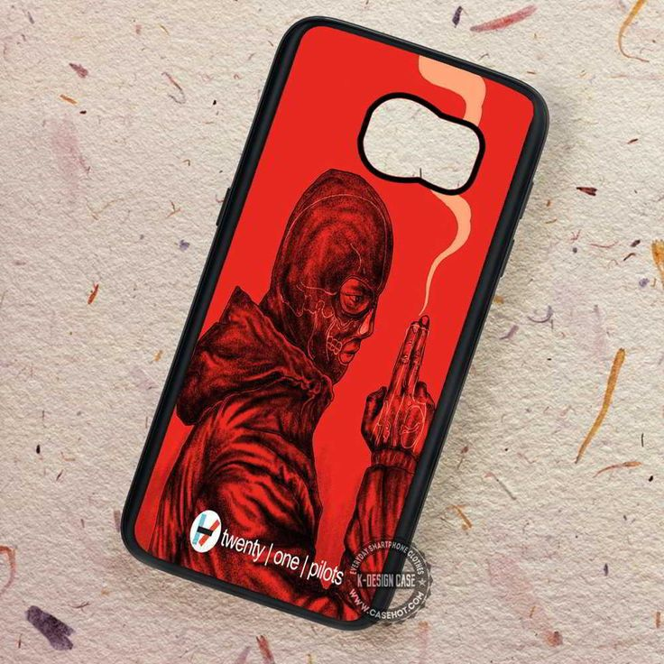 Red Twenty One Pilots Minimal Poster - Samsung Galaxy S7 S6 S5 Note 7 Cases & Covers