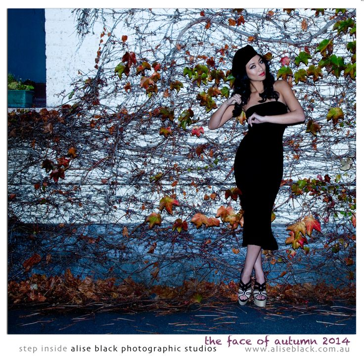 The Face of Autumn 2014 Signature Collection - created by the team at Alise Black Photographic Studios.