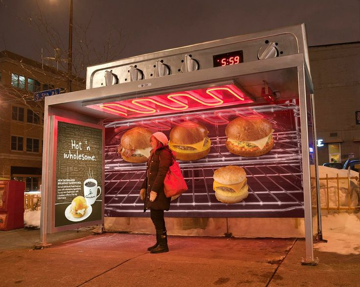 bus next to bus stop advertising - Google Search