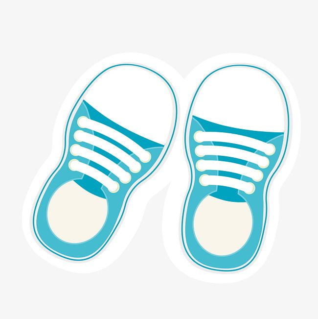 Blue Hand Painted Baby Shoes Vector Blue Vector Baby Vector Shoes Vector Png Transparent Clipart Image And Psd File For Free Download Shoes Vector Baby Shoes Baby Illustration