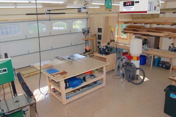 Top 60 Best Garage Workshop Ideas Manly Working Spaces En 2020