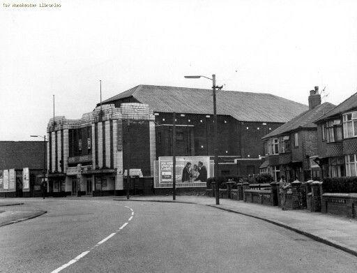 The Adelphi Cinema, Kenyon Lane, Moston, Manchester.