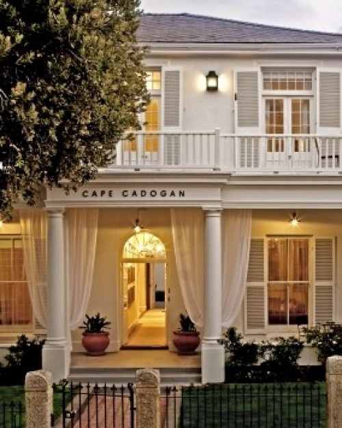 In Cape Town, the Cape Cadogan is housed in a double-story Georgian and Victorian building. #Jetsetter