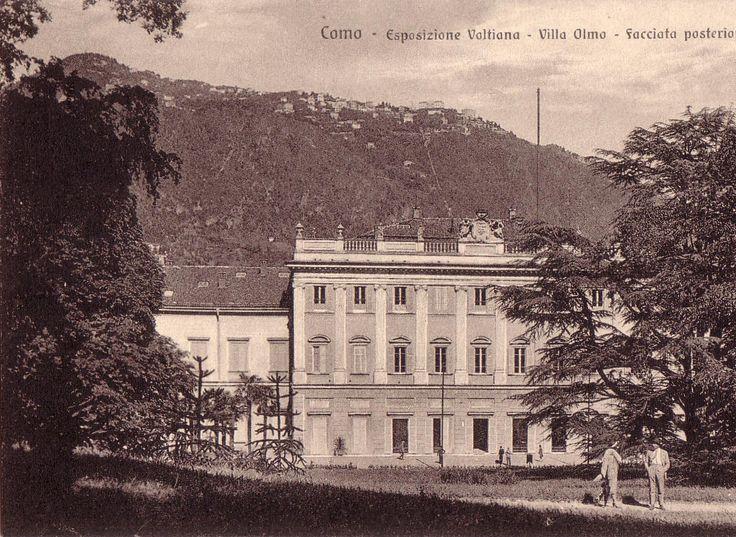 Postcard of Villa Olmo | Como #lakecomoville