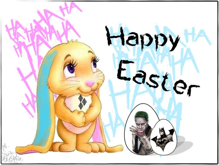Happy Easter - Harley Quinn