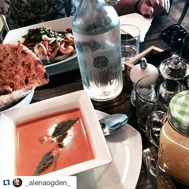 #_alenaogden_ shared this picture of her favourite #CafeItalianoUAE soup with us via Instagram. Many thanks!