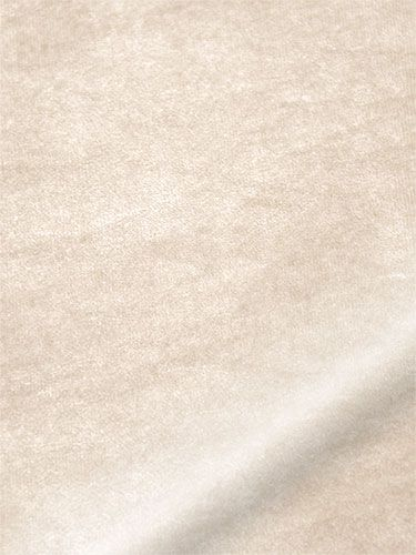 Velvet Soft Cream Roman Blind from Blinds 2go