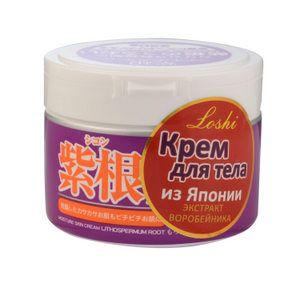 КРЕМ УВЛАЖНЯЮЩИЙ С ВОРОБЕЙНИКОМ ДЛЯ ТЕЛА Moisture Skin Cream Lithospermum Root Roland (Япония) Обеспечивает комплексный уход за кожей:  восстанавливает эпидермис; активно увлажняет кожу; сужает поры; устраняет мелкие морщинки; стимулирует иммунитет кожи.