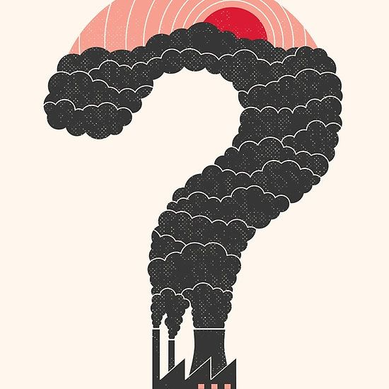 Why? #Pollution #illustration
