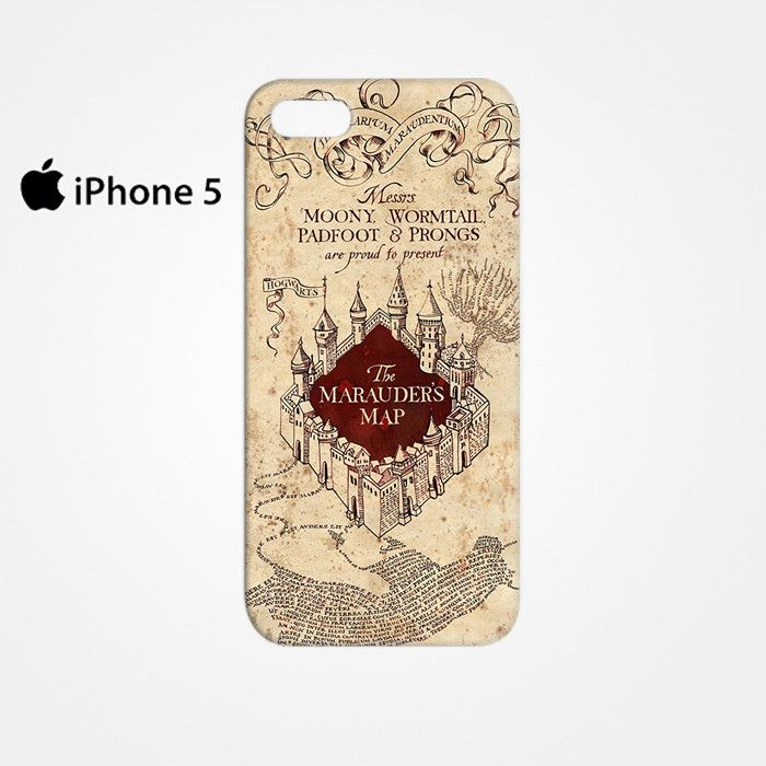 The Marauders Mao Harry Potter for Iphone 4/4S Iphone 5/5S/5C Iphone 6/6S/6S Plus/6 Plus 3D Phone case
