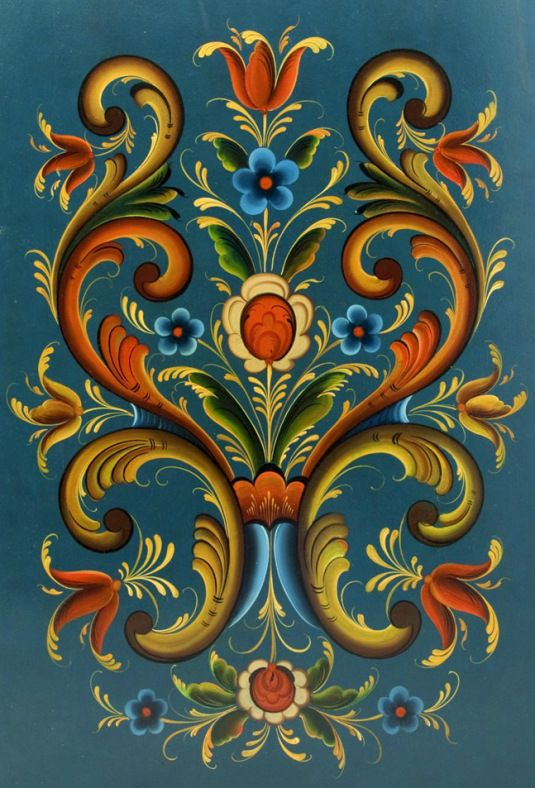Images Of Rosemaling Paintings