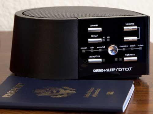 Sound+Sleep Adaptive Sound Sleep Therapy System nomad Travel Version ~ Sleep Well Wherever You May Roam!