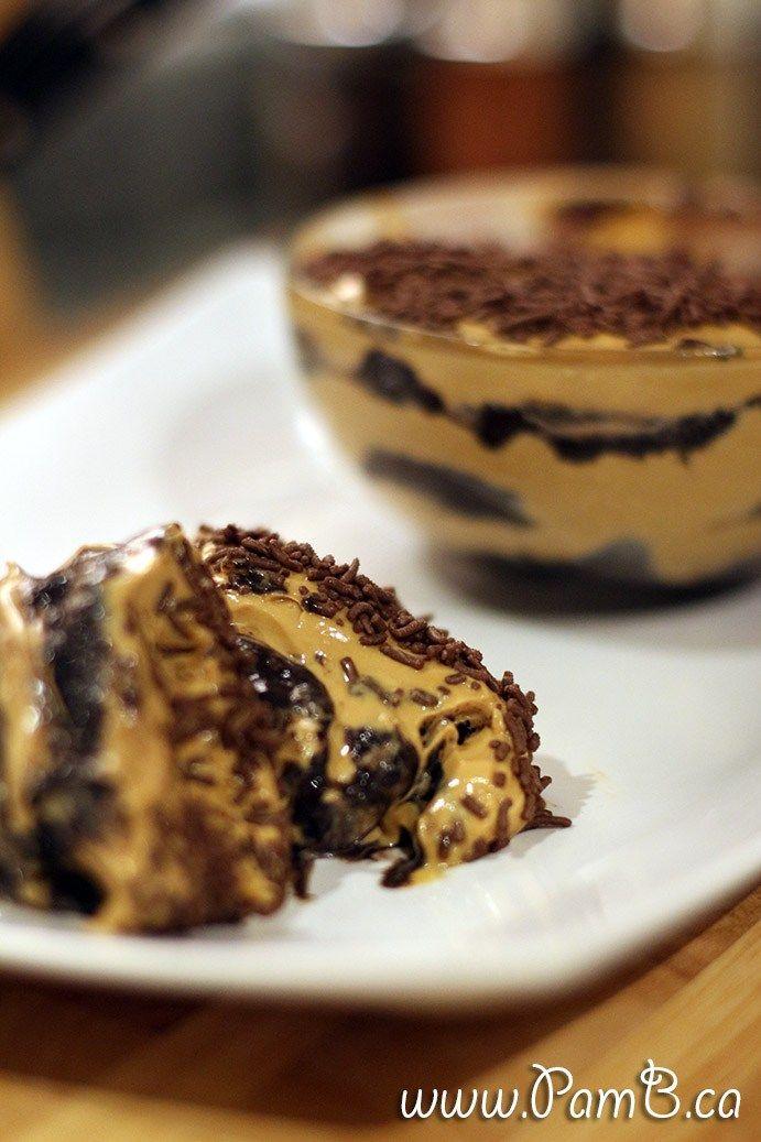 Chocotorta Oreo com doce de leite