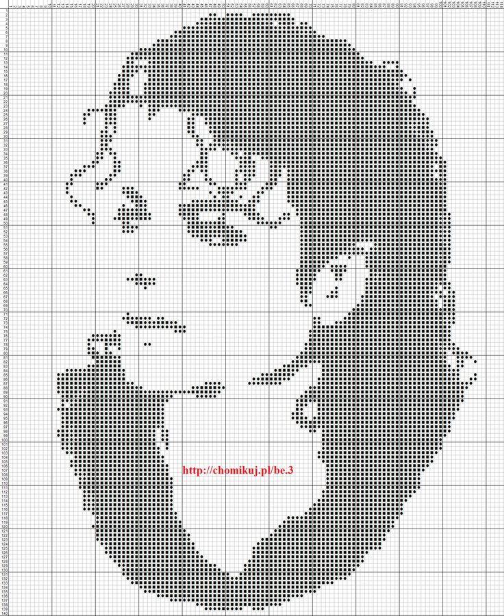 Um . . . what? Cross Stitch Michael Jackson