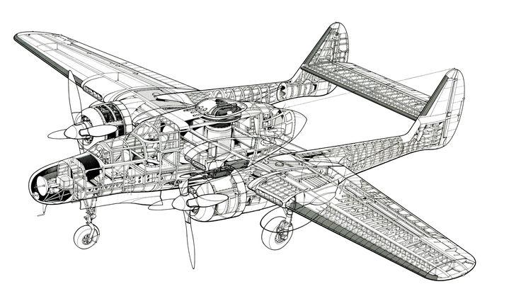 Pin by Jacek on Aircraft clear cutaways ww I & ww II