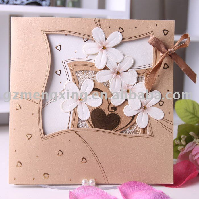 90 best cards-wedding images on Pinterest Card wedding, Card - invitation card decoration