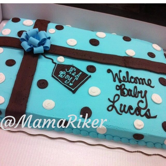 Full Sheet Cake For Baby Shower