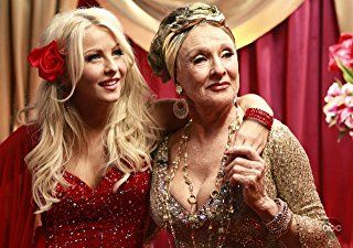 Cloris Leachman and Julianne Hough in Dancing with the Stars (2005)