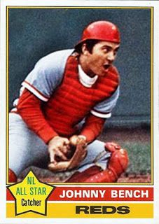 Johnny Bench Cincinnati Reds