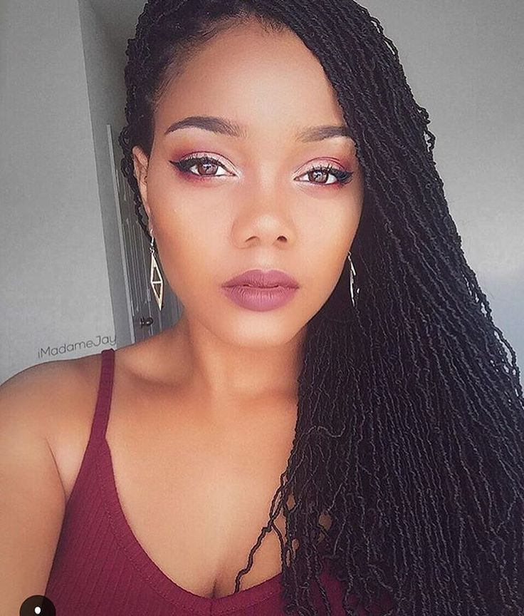 Crochet Braids Micro Locs : Crochet Micro Braids on Pinterest Micro Braids, Marley Bun and Micro ...