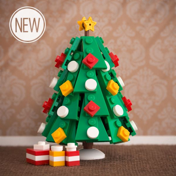 Lego builder extraordinaire and designer Chris McVeigh offers kits and build instructions for Lego ornaments.