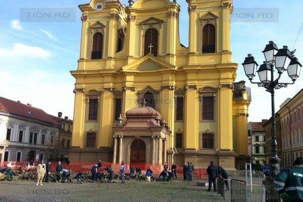 Piata Unirii in Timisoara