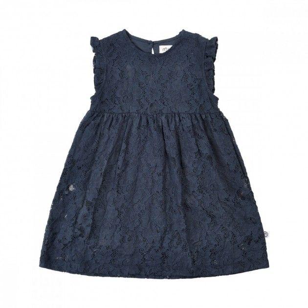 Blå Minymo Julekjole til baby   DressMyKid.no - Barn og baby - Alltid gode tilbud