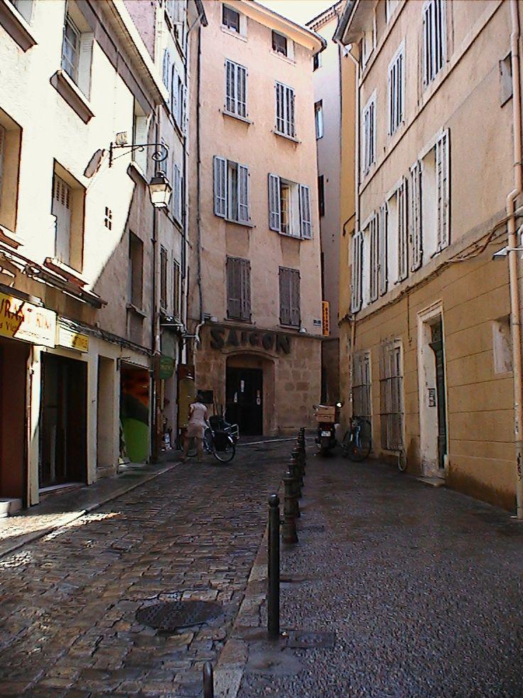 Rue en Aix-en-Provence, France