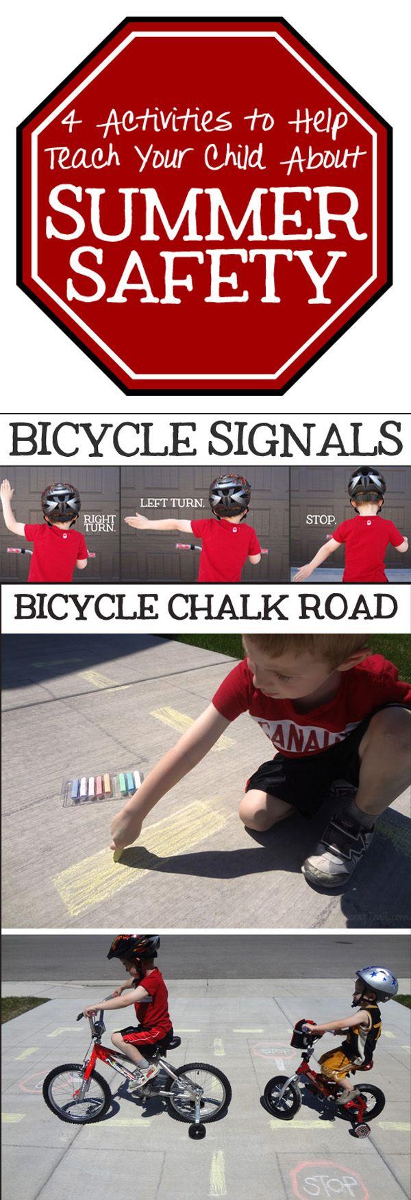 Summer safety,(in celebration of National Bike Safety Month!) #BikeMonth