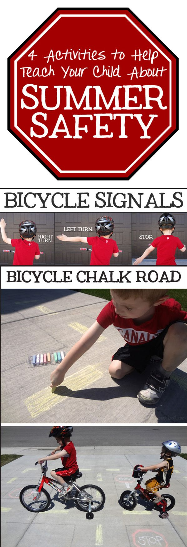 Summer safety, part 2 (in celebration of National Bike Safety Month!)