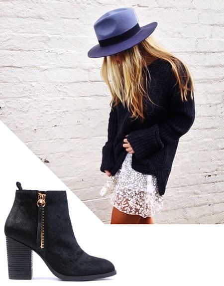Babe in a hat - http://www.sirenshoes.com.au/wordpress/index.php/babe-in-a-hat/