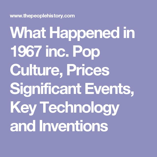 what happened in 1965 inc pop culture prices and events
