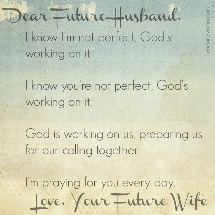 Husband Who Your Will Be Future