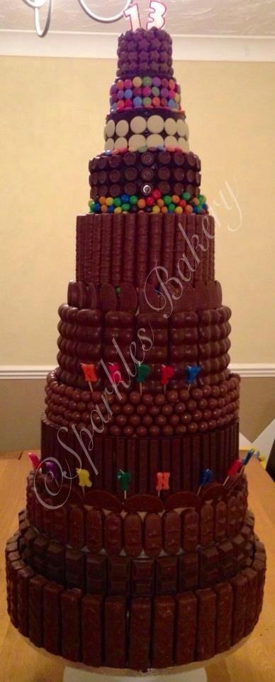 Mega chocolate cake!