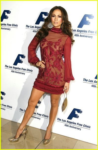 Jennifer Lopez's Weight Loss? | jennifer lopez free clinic dinner 11 - Photo