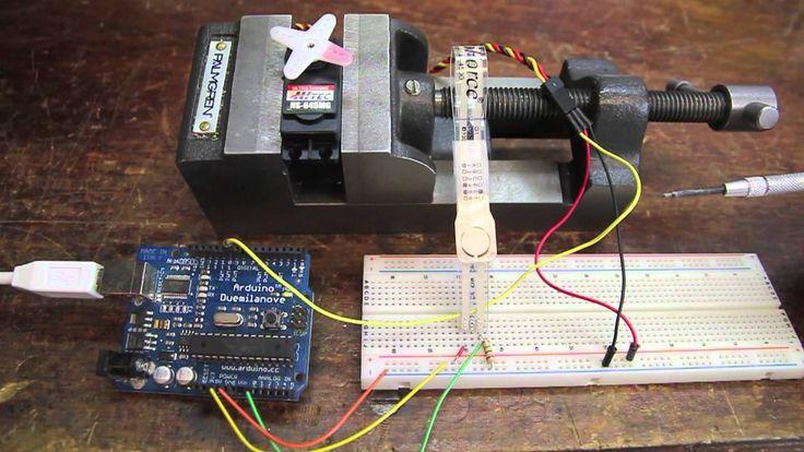 1000 ideas about servo arduino on pinterest arduino for Industrial servo motor tutorial