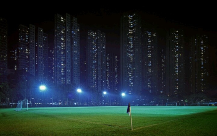 Soccer Field at night | SOCCER ♥. | Pinterest | Fields