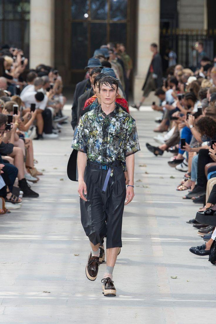 Louis Vuitton: menswear spring/summer 2018