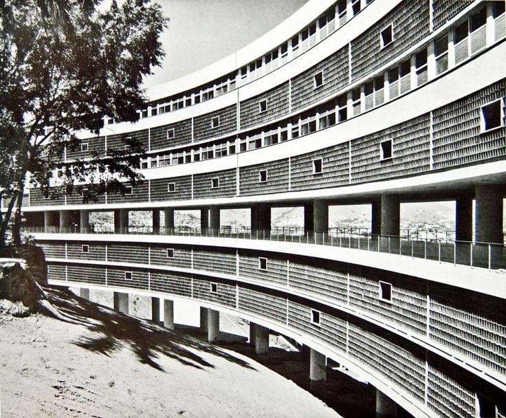 Habitacional do Pedregulho | 1947 | Rio de Janeiro, Brazil | Affonso Eduardo Reidy