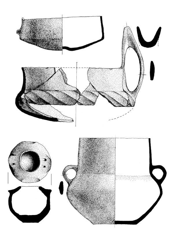 Hallstatt pottery, 700 BC