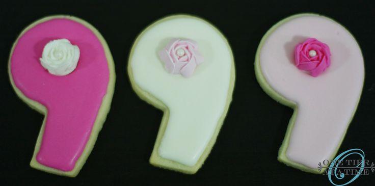 American Girl pink 9 sugar cookies