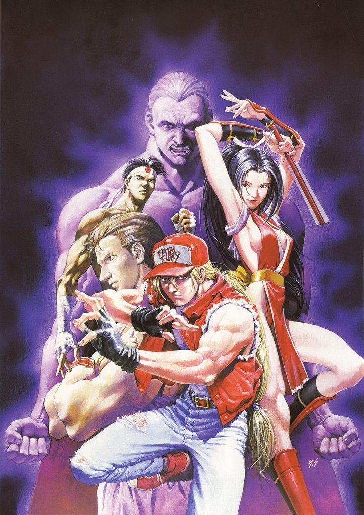 Fatal Fury Poster King Of Fighters Street Fighter Art Capcom Vs Snk