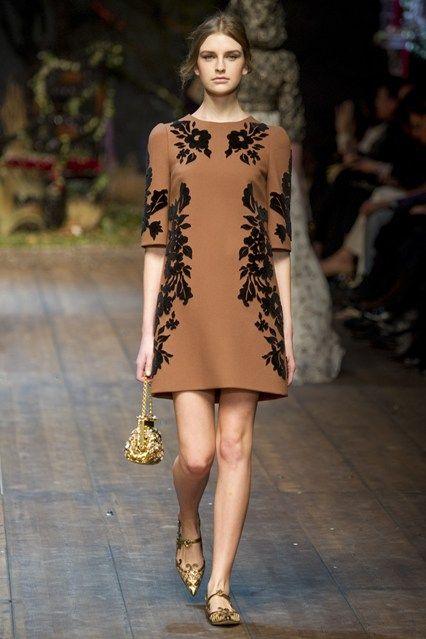 Dolce & Gabbana A/W14 @ Milan Fashion Week