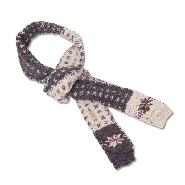 Økologisk tøj - Uld halstørklæde