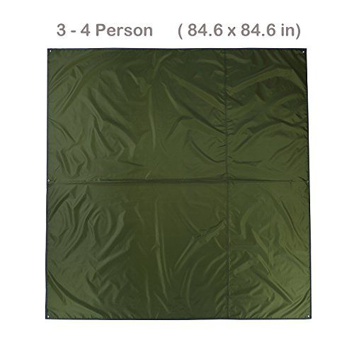 Naturehike 2 3 4 Person Outdoor Thickened Oxford Fabric Camping Tarpaulin Shelter Tent Tarp Canopy Cover Footprint Groundsheet Blanket Mat for Fishing Beach Hiking Backpacking (Green - 3-4 Person). For product & price info go to:  https://all4hiking.com/products/naturehike-2-3-4-person-outdoor-thickened-oxford-fabric-camping-tarpaulin-shelter-tent-tarp-canopy-cover-footprint-groundsheet-blanket-mat-for-fishing-beach-hiking-backpacking-green-3-4-person/