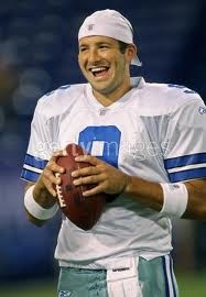 Tony Romo. I love love love dimples. Probably why I married my husband :)