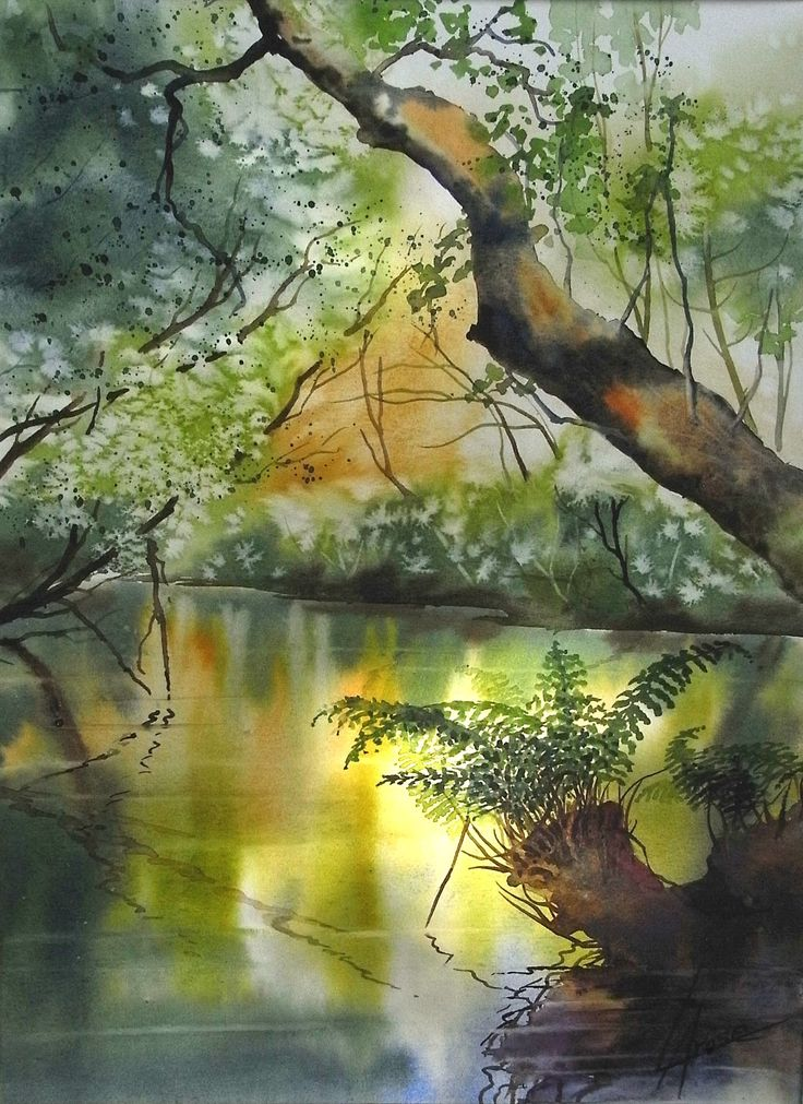 Anne Larose Watercolor